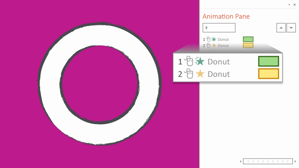 Wheel animation in PowerPoint: How to spin anti-clockwise
