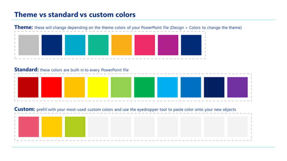 color tool powerpoint