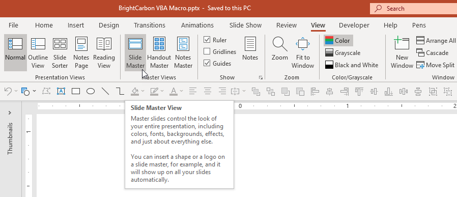 Restore default slide master layouts in PowerPoint with VBA